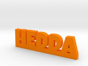 HEDDA Lucky in Orange Processed Versatile Plastic