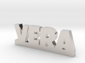 VERA Lucky in Rhodium Plated Brass
