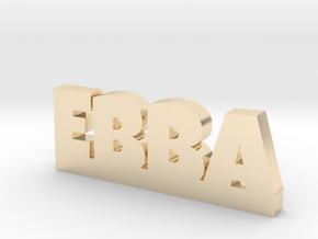 EBBA Lucky in 14k Gold Plated Brass