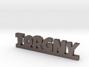 TORGNY Lucky in Polished Bronzed Silver Steel