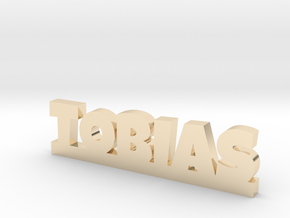 TOBIAS Lucky in 14k Gold Plated Brass