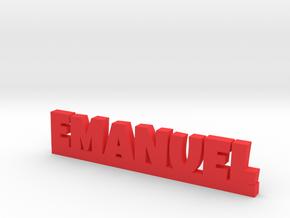 EMANUEL Lucky in Red Processed Versatile Plastic