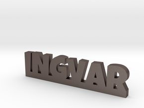 INGVAR Lucky in Polished Bronzed Silver Steel