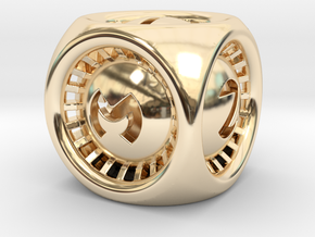 Turbo D6 in 14K Yellow Gold