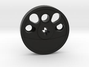 Large Boxpok Blind Driver - Large Counterweight in Black Natural Versatile Plastic