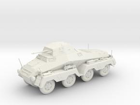VBA Sd.kfz 231 8 rad 1:48 28mm wargames in White Natural Versatile Plastic