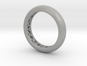 Pattern Ring  in Aluminum