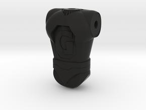 Ginormo Torso 120 in Black Natural Versatile Plastic