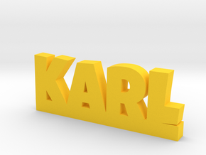 KARL Lucky in Yellow Processed Versatile Plastic