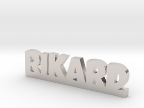 RIKARD Lucky in Rhodium Plated Brass