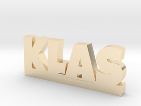 KLAS Lucky in 14k Gold Plated Brass