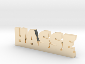 HASSE Lucky in 14k Gold Plated Brass