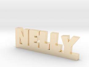 NELLY Lucky in 14k Gold Plated Brass