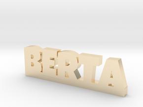 BERTA Lucky in 14k Gold Plated Brass