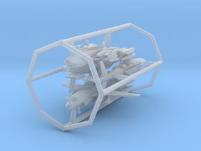 EA-6B w/gear x4 (FUD) in Smooth Fine Detail Plastic: 1:500