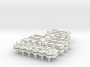 Schaku Kupplung für N1 und n2 in White Strong & Flexible