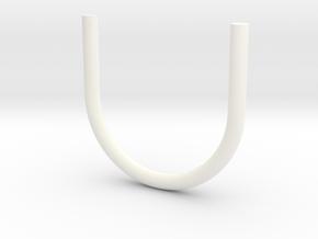 PN Wessex Tail Hoop Aerial in White Processed Versatile Plastic