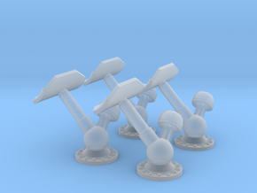1/144 USN K-Gun Set x4 in Smooth Fine Detail Plastic