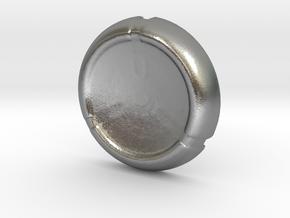 Kanoka disk in Natural Silver
