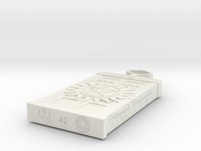 Fandom Necklace in White Natural Versatile Plastic
