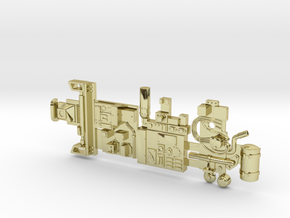 Y-wing Centurion Parts in 18k Gold