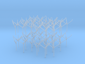 Architects Tree 2 scale 1-200-1-250 x60  in Smooth Fine Detail Plastic: 1:200