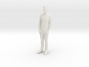 Printle C Homme 031 - 1/35 - wob in White Natural Versatile Plastic