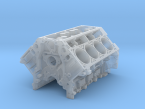 Ls3 Block 1/18 in Smooth Fine Detail Plastic
