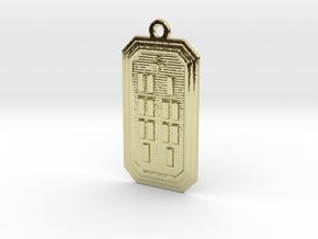 ODIKANA in 18k Gold Plated Brass