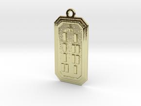 ODIOMOLU in 18k Gold Plated Brass