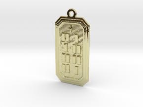 ODIKA in 18k Gold Plated Brass