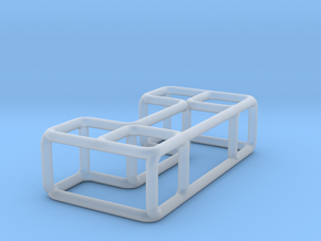 Bench 5 scale 1-100 in Smooth Fine Detail Plastic: 1:100
