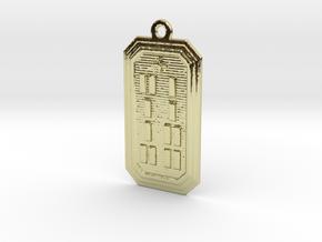 IROSOWORI in 18k Gold Plated Brass