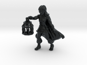 Wenda, Novice Adventurer (28mm/Heroic scale) in Black Hi-Def Acrylate