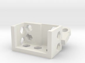Camera Mount  in White Natural Versatile Plastic