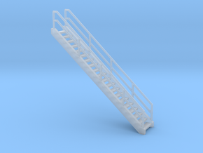 """""""HO Scale"""" - Ethanol Fill Station Stairway in Smooth Fine Detail Plastic"""