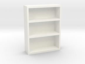 Bookcase 2 in White Strong & Flexible Polished