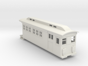 On30 Doodlebug/Railmotor Lindsay3 in White Natural Versatile Plastic