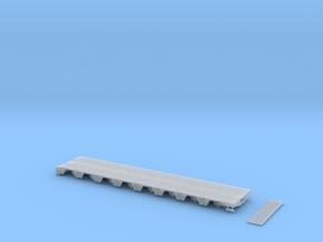 MPA 13 Tieflader ähnlich Goldhofer Mpa 8 achs für  in Smooth Fine Detail Plastic