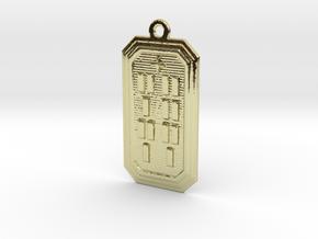OKANAFUN in 18k Gold Plated Brass