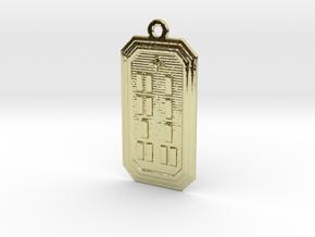 OGUNDATRUPON in 18k Gold Plated Brass