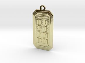 IKAWORI in 18k Gold Plated Brass