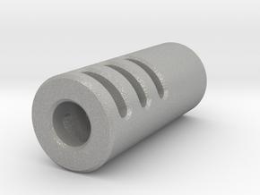 Slim Muzzle Device V4 in Aluminum