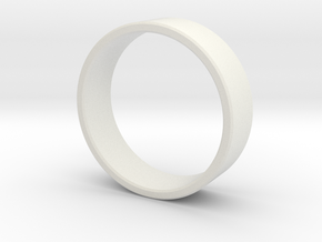 Ring Male in White Natural Versatile Plastic: 9 / 59