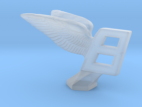 Hood Ornament for Bentley in Smooth Fine Detail Plastic