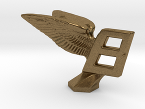 Hood Ornament for Bentley in Natural Bronze