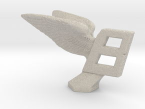 Hood Ornament for Bentley in Natural Sandstone