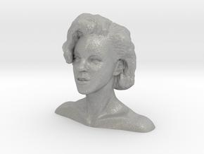 Marilyn Monroe bust in Aluminum