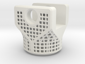 Lattice Part in White Natural Versatile Plastic