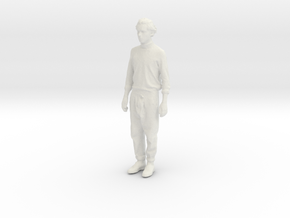 Printle C Homme 007 - 1/43 - wob in White Strong & Flexible